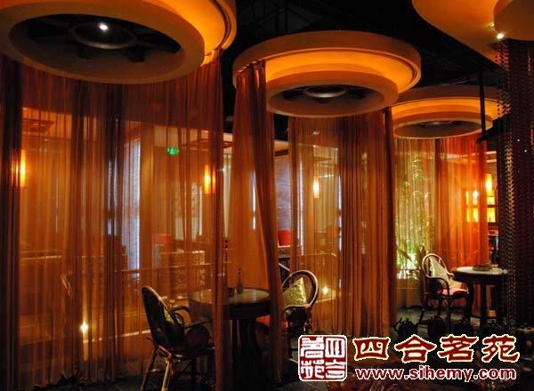 茶楼设计精神释放的理想之所-茶楼包间效果中式装修