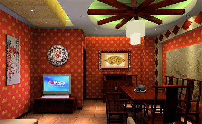 茶楼包间设计-说到中式茶室装修效果图,这茶室装修本就有许多风格